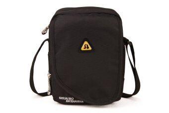 2016 Men Sport Style Fashion Crossbody Bag Tote Bag Messenger Bag (black)