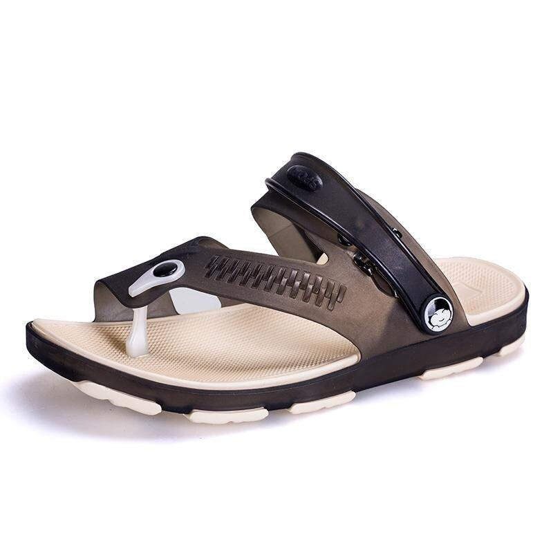 2017 New Style Fashion Male Sandals Fashion and Comfortable Slippers - intl ...