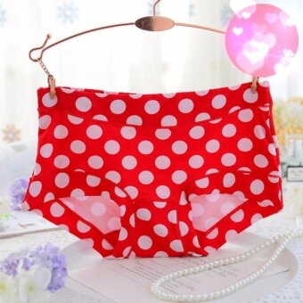 3pieces/Box Fashion Women Wave point Comfortable Breathable three angle panties