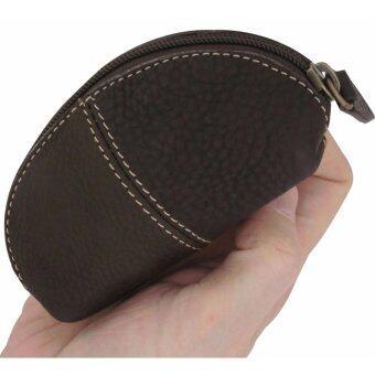 กระเป๋าสตางค์ใส่เหรียญเกรด A ใส่บัตร ใส่ของมีค่า สำหรับสุภาพบุรุษและสตรี Sun Lifestyle รุ่น SL267-3 (สีช็อคโกแลต)