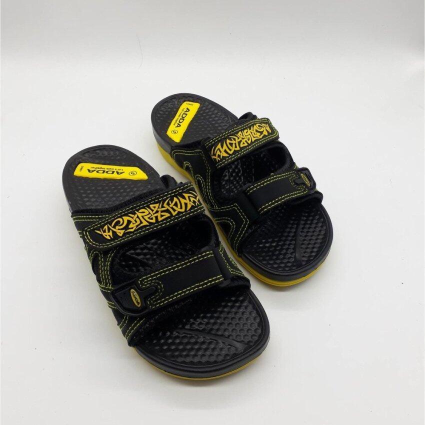 ADDA 22W01-W1 รองเท้าแตะสวมผู้่หญิง (สีเหลือง) ...