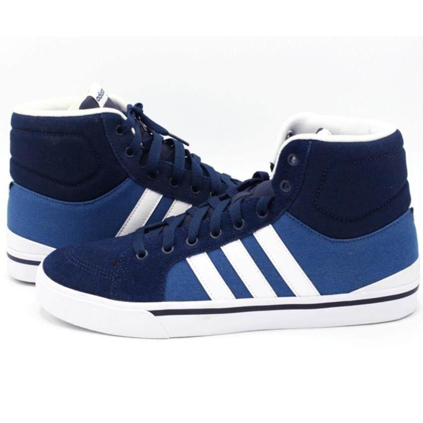 Adidas รองเท้าผ้าใบ ADIDAS SNEAKER รุ่น F99245 สี NAVY/WHITE