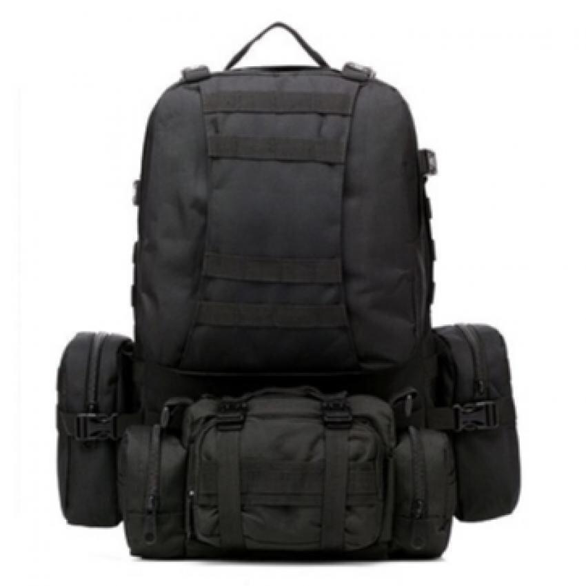 ALL SPORT กระเป๋าสะพาย เป้แม่ลูก 4in1 แยกใช้งานได้ (สีดำ)