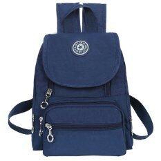 AOTIAN กระเป๋าเป้สะพายหลัง ผ้ากันน้ำ รุ่น WH2124(สีน้ำเงิน)