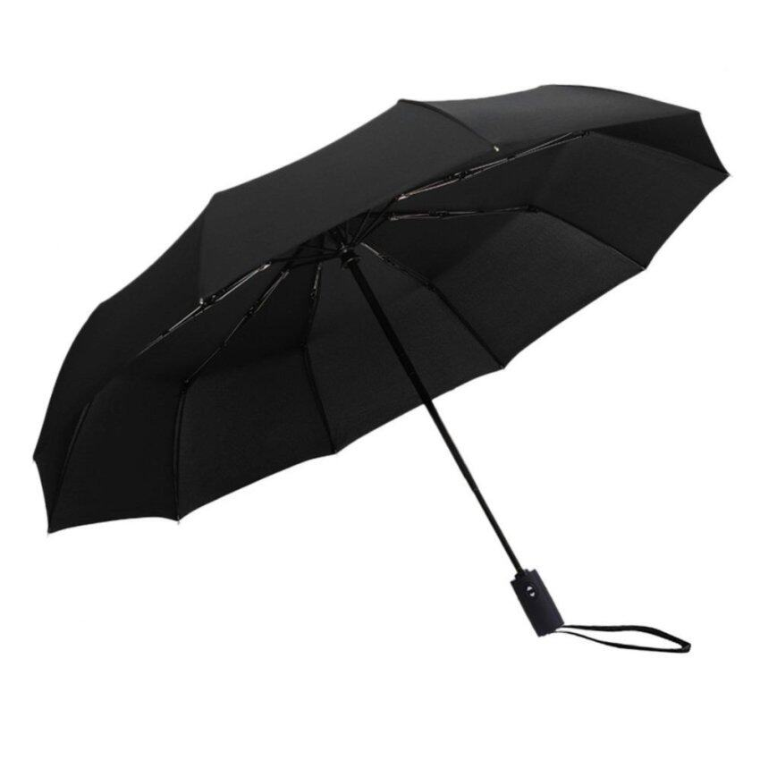Automatic Open And Close Foldable Windproof Travel Umbrella For Men And Wowen - intl ...