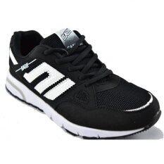 Baoji รองเท้าผ้าใบผู้หญิง รุ่น BJW212 (Black/White)