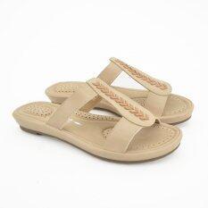 BATA COMFIT รองเท้าผู้หญิง ส้นแบน CASUAL SLIP ON สีเนื้อ รหัส 6618585