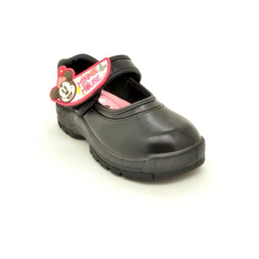 Bata Disney รองเท้านักเรียน เด็กผู้หญิง สีดำลายมินนี่ เม้าส์ รหัส 1416068