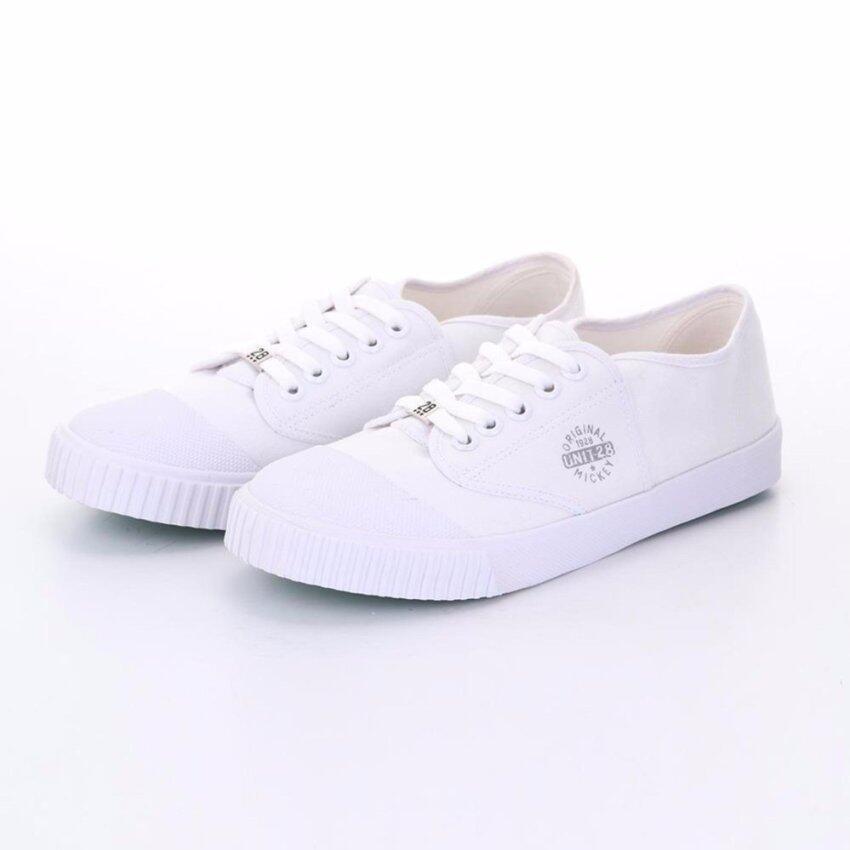 Bata Disney รองเท้านักเรียนผ้าใบ สีขาว รหัส 4291612