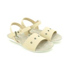 BATA รองเท้าแฟชั่นผู้หญิงส้นแบนแบบรัดส้น LADIES FLATS SANDAL CONTEMP สีเนื้อ รหัส 5618516