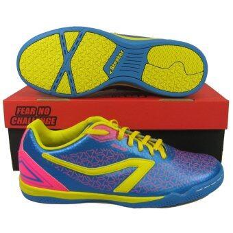 รองเท้ากีฬา รองเท้าฟุตซอล BREAKER BK-1202 น้ำเงิน