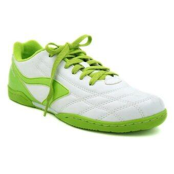 Breaker รองเท้ากีฬา รองเท้าฟุตซอล เบรกเกอร์ Breaker BK-0808 BRAVO ขาวเขียว