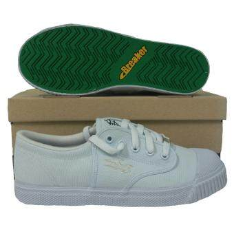 Breaker รองเท้ากีฬา รองเท้าฟุตซอล Breaker BK-4x4 ขาว