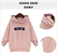 Casual Hoodie letter print Long Sleeve Pullovers Women's Fashion Hoodies spring wear Sweatshirts Hoodies & Sweatshirts women sportwear - intl