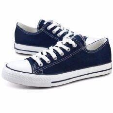 Cc jeans รองเท้าผ้าใบผู้หญิง รุ่น A001 - สีน้ำเงิน