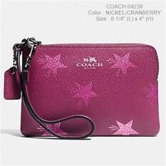 Coach F64239 กระเป๋าคล้องมือใส่ iphone7 ได้ image