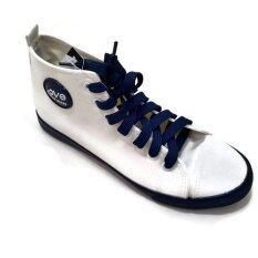 COLORFUL รองเท้าผ้าใบแฟชั่นสุภาพสตรี รุ่น SM322 Love Sport (สีขาว)
