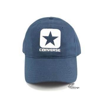 4dffbc0e12a60a แนะนำ มาใหม่ หมวก Converse รุ่น Box Star Cap navy blue น้ำเงินเข้ม