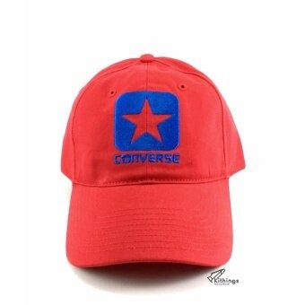 550bc4112d9b8f แนะนำ สินค้ายอดนิยม หมวก Converse รุ่น Box Star Cap red แดง