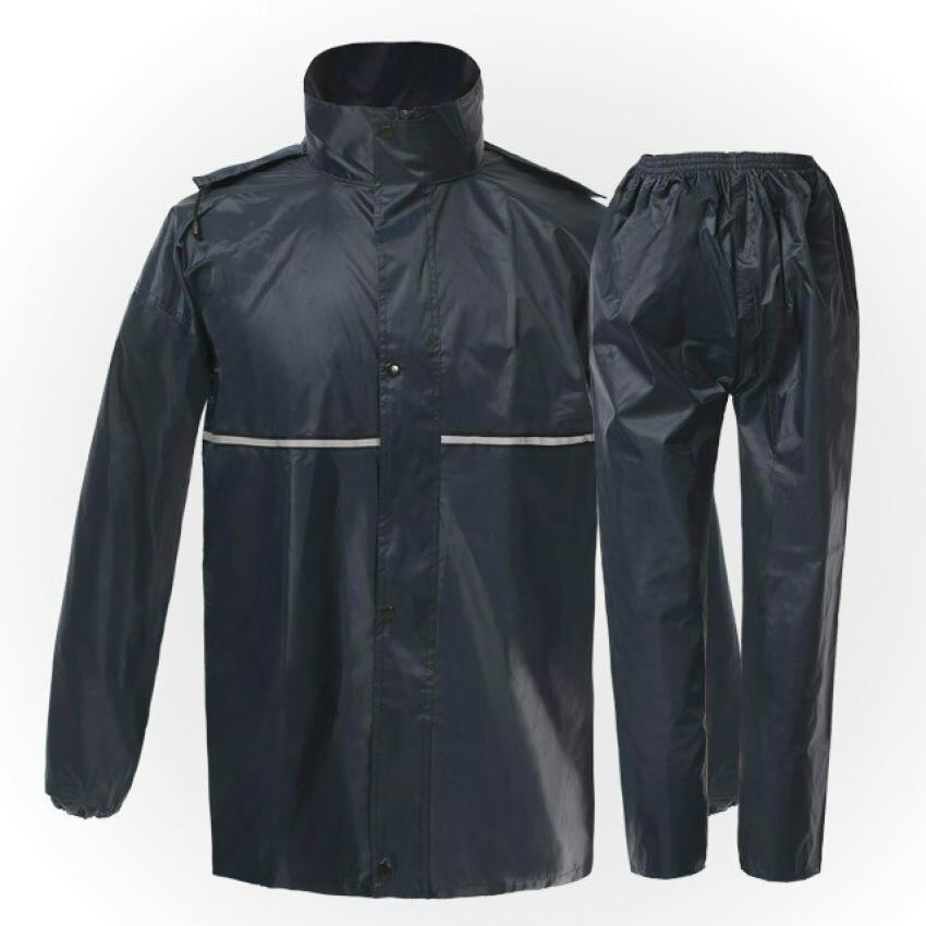 EGC Reflective raincoat 1266 split raincoat adult raincoat for motorcycle riding - Intl ..