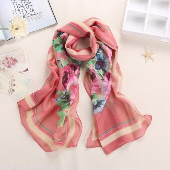 Fashion Women Long Soft Wrap scarf Ladies Shawl Scarf Scarves - intl