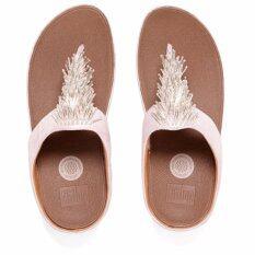 b4521b26edcfb7 Fitflop Cha Cha Silver US7 EU38 - รองเท้าใส่สบาย เพื่อสุขภาพ