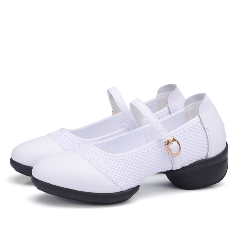 Fitness Breathable Teachers Latin Salsa Jazz Modern Dance Shoes Women Dancing Sneakers L ...