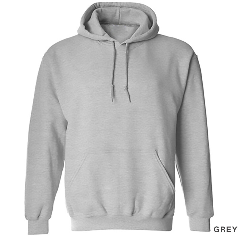 Hequ Solid Color Pullover Men Sweatershirt Men Long Sleeve Casual Hoodies Grey - intl ...