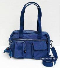 Kipling กระเป๋าถือสะพาย Kipling Latona Mineral Blue image