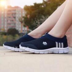 Kiyaya รองเท้าผ้าใบแฟชั่นเพื่อสุขภาพ รุ่น TP-1602-Navy