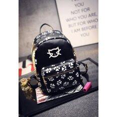 กระเป๋าเป้แฟชั่น รุ่น MJY สีดำ