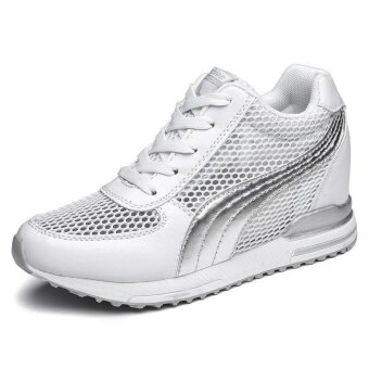 Ladies Wear-resistant Light Leisure Breathable Anti-skid Comfortable Sports Shoes - intl
