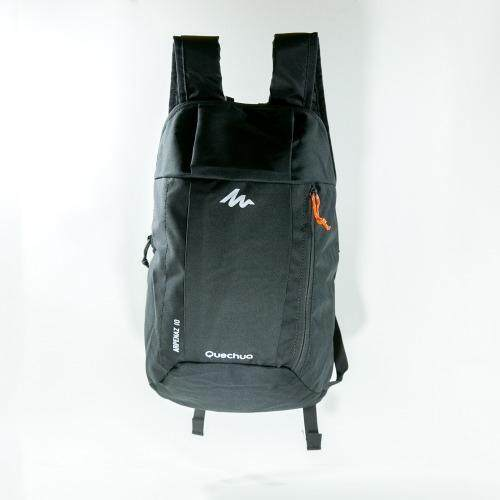 Mansomeguys กระเป๋าเป้จักรยาน เป้กันน้ำ สำหรับปั่นจักรยาน รุ่น Waterproof Bag Arpenaz Green สีดำ Black