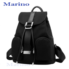 Marino กระเป๋า กระเป๋าสะพายสีดำ กระเป๋าเป้สะพายหลัง No.1120 - สีดำ