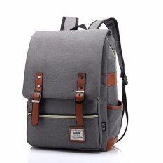Marverlous กระเป๋า กระเป๋าเป้ Backpack MB01-สีเทา
