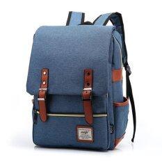 Marverlous กระเป๋า กระเป๋าเป้ Backpack MB01-สีฟ้า