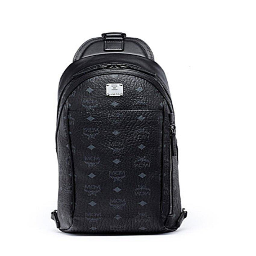 MCM Men's STARK SLING Backpack, One Size/ship from south Korea - intl