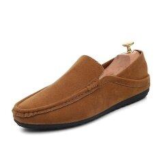 Mens New Fashion Breathable Leisure Comfortable Peas Shoes - Intl ราคา 683 บาท(-45%)