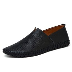 Mens New Fashion Breathable Leisure Comfortable Peas Shoes - Intl ราคา 905 บาท(-47%)