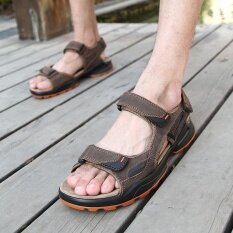 Mens Non-Slip Comfortable Wear-Resistant Trend Daily Leisure Personality Sandals - Intl ราคา 979 บาท(-51%)