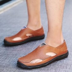 Mens Non-Slip Comfortable Wear-Resistant Trend Daily Leisure Personality Sandals - Intl ราคา 889 บาท(-52%)
