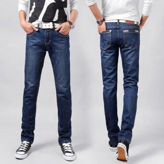 Men's jeans straight men's trousers Man fashion loose straightjeans - intl