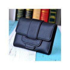 Moniga กระเป๋าสตางค์ รุ่น Gaston สีดำ