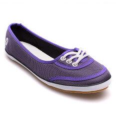 MOSSONO รองเท้าผ้าใบ รุ่น SW057 (ม่วง)