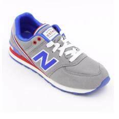 New Balance รองเท้าผ้าใบ รุ่น KL574 JGG - Grey