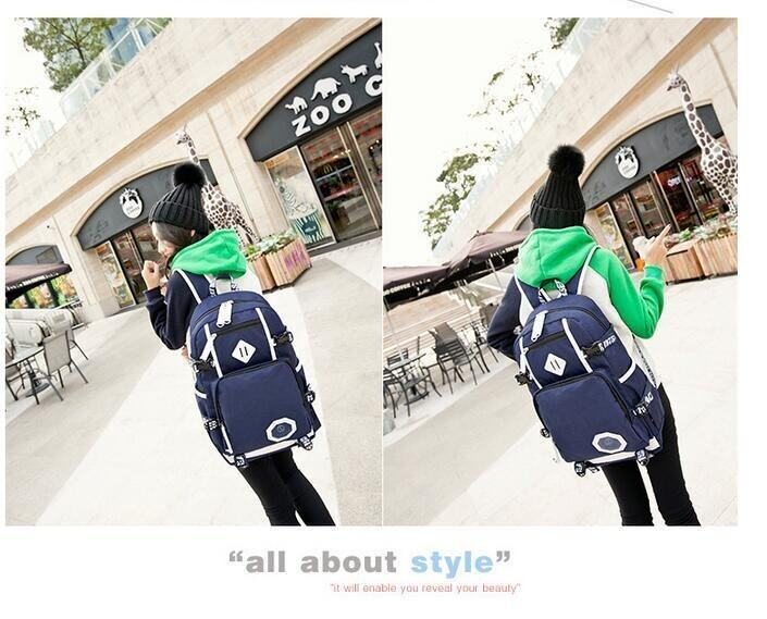 New Fashion High Quality Oxford School Bags Boys and Girls Backpacks Best Travel Backpac ...