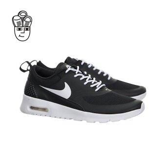 ☂ ลดพิเศษ Nike Air Max Thea Running Shoes Black White