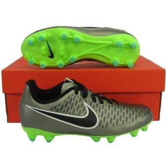 Nike รองเท้ากีฬา รองเท้าสตั๊ดเด็ก NIKE 651653-010 JR MAGISTA ONDA FG เงิน เบอร์ US 3Y