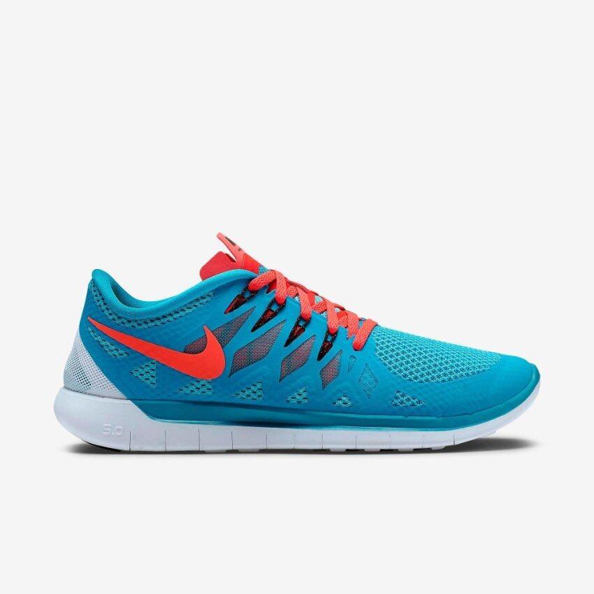 Nike รองเท้าวิ่งผู้ชาย รุ่น Free 5.0 สีฟ้า