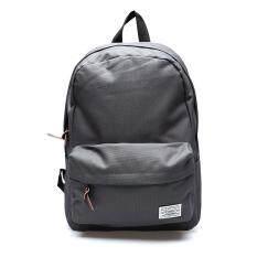 Pari_brand กระเป๋าเป้สะพายหลัง BAGpack hight quality with back zip (grey)